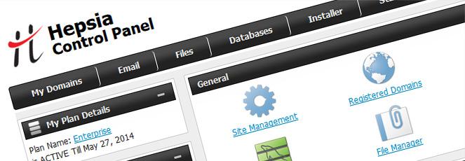 Shared Web Hosting Control Panel